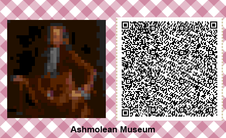 Animal Crossing Artwork – Portrait of Elias Ashmole