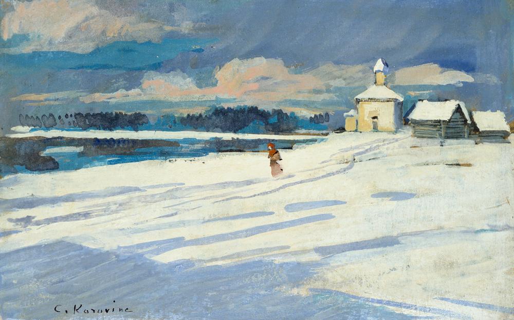 Konstantin Korovin Winter Landscape