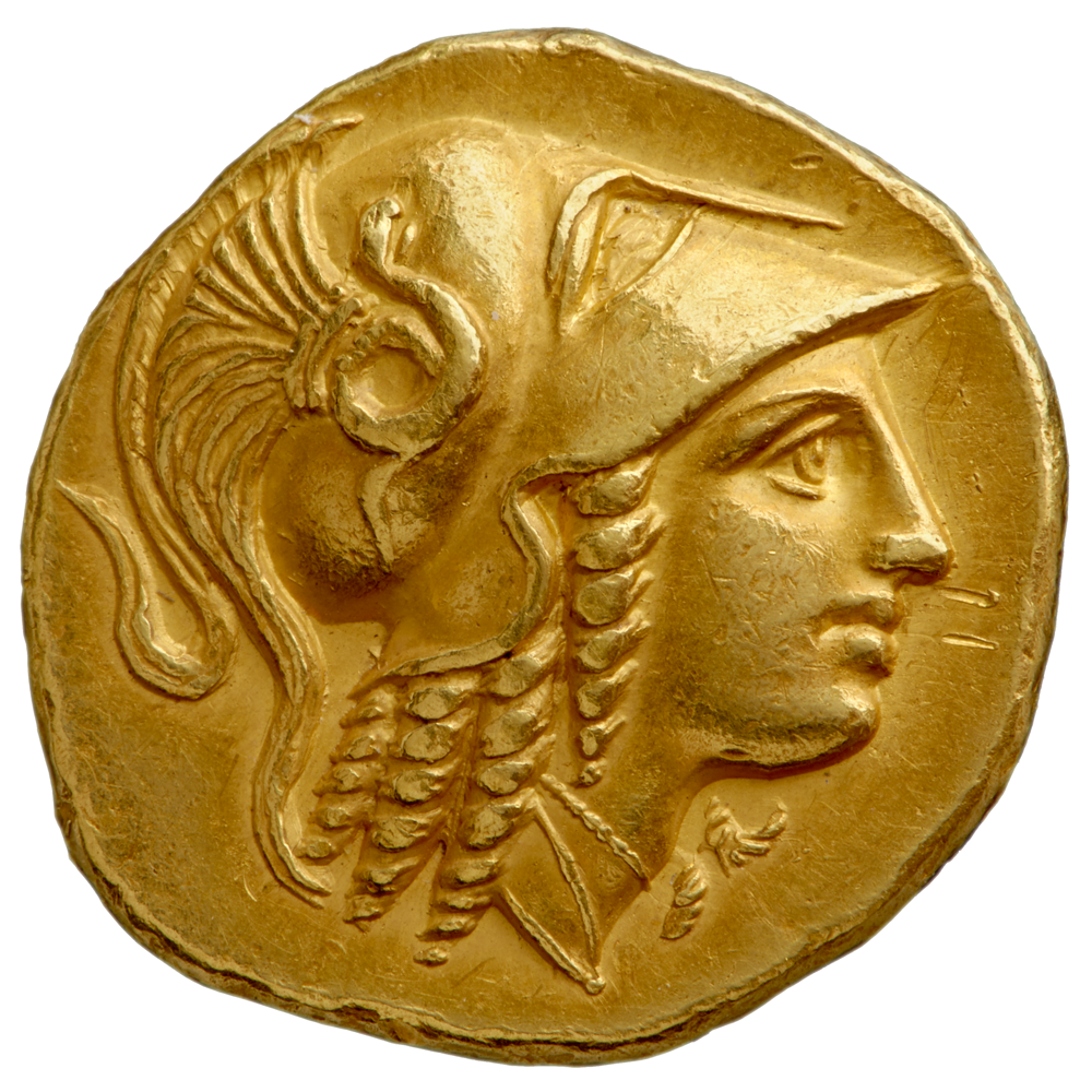 Gold stater of Alexander III
