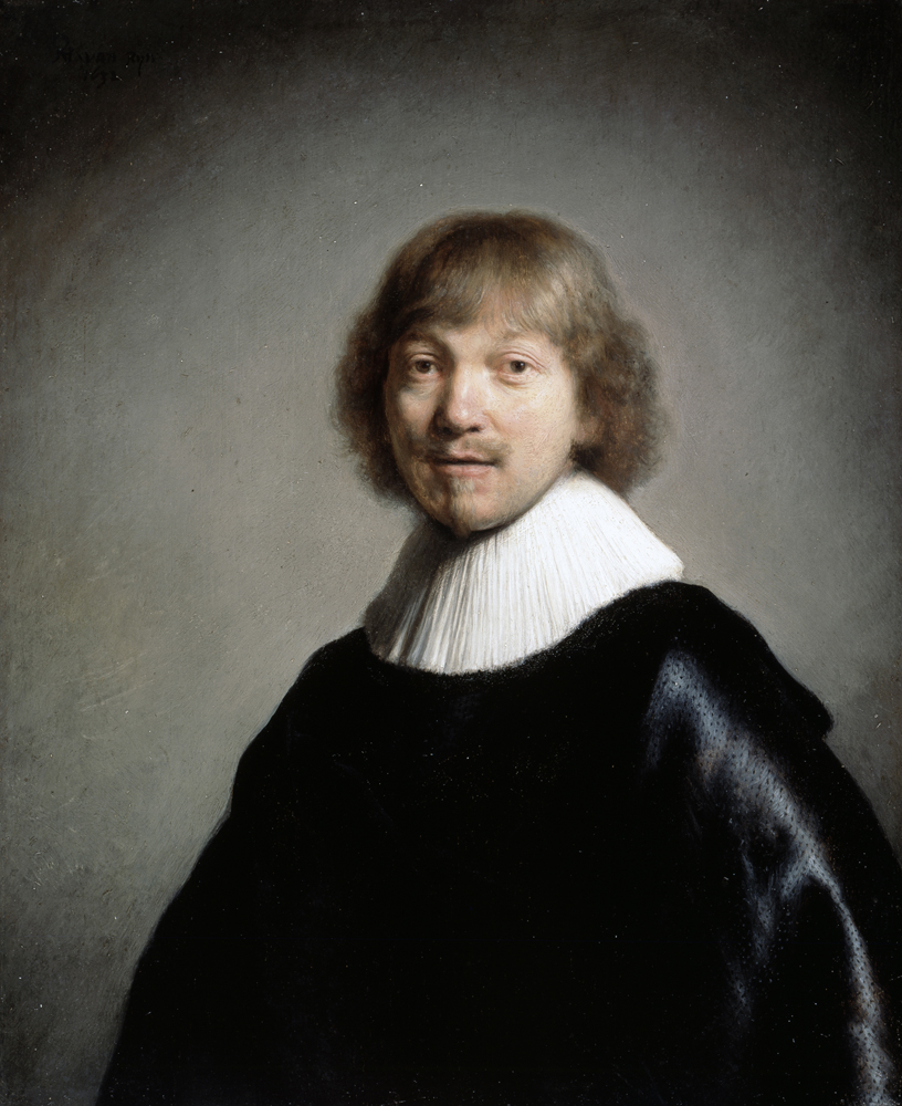 2020 Young Rembrandt Exhibition – Rembrandt, Portrait of Jacques de Gheyn III, 1632 © Dulwich Picture Gallery, London