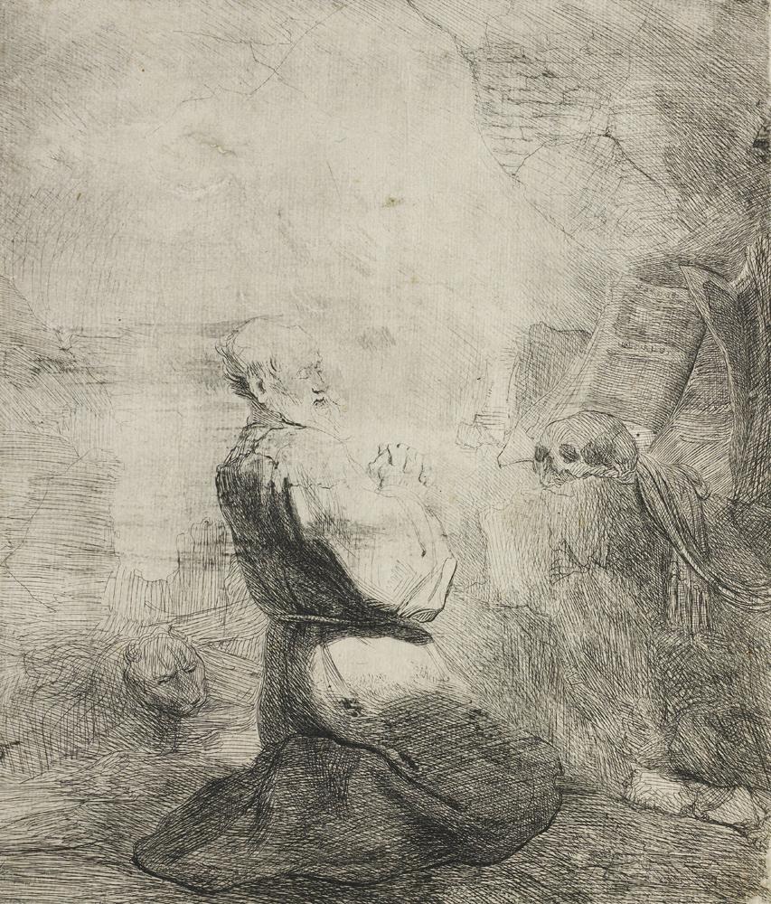 2020 Young Rembrandt Exhibition – Rembrandt, Saint Jerome kneeling, c. 1628 © Rijksmuseum, Amsterdam