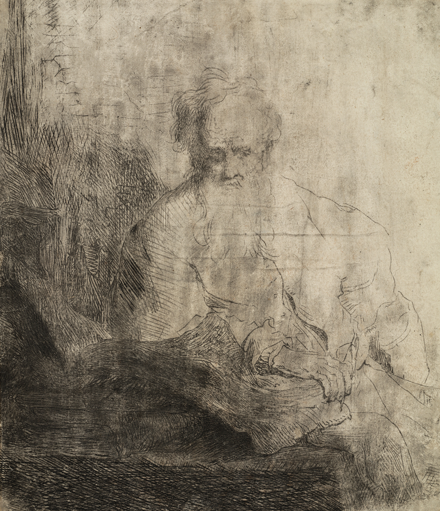 2020 Young Rembrandt Exhibition – Rembrandt, The apostle Saint Paul in meditation, c. 1629 © Teylers Museum, Haarlem
