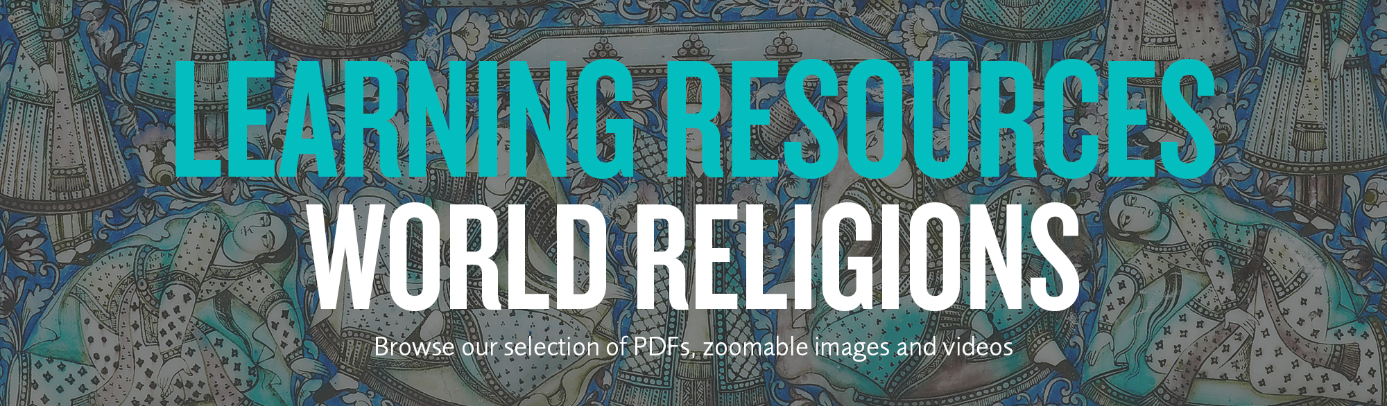 Learning resources World religions