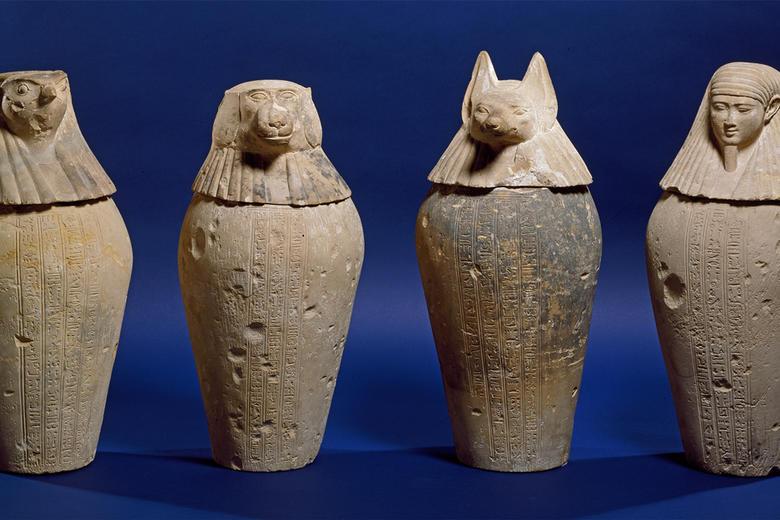 Ancient Egypt Canopic Jars