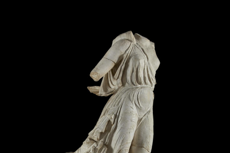 Cast of Nike of Paionios, Olympia, Greece c. 425–421 BC
