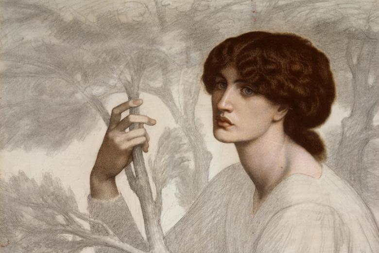 The Day Dream, by Dante Gabriel Rossetti WA1939.6