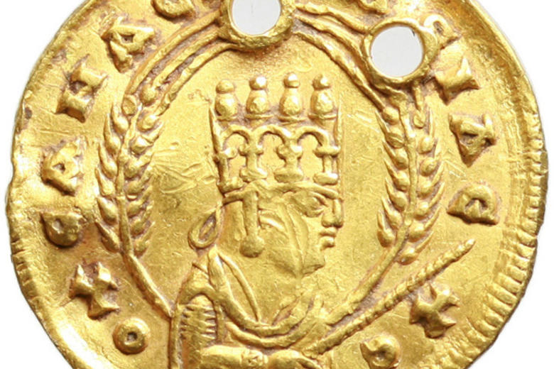 flow of gold  axsumite coin for profile