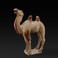 A stone model of a camel