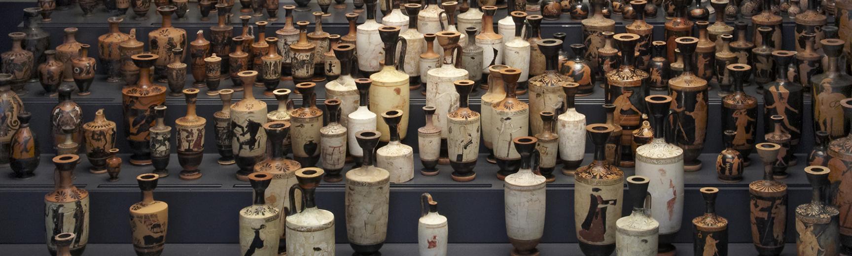Collection of Greek Lekythoi