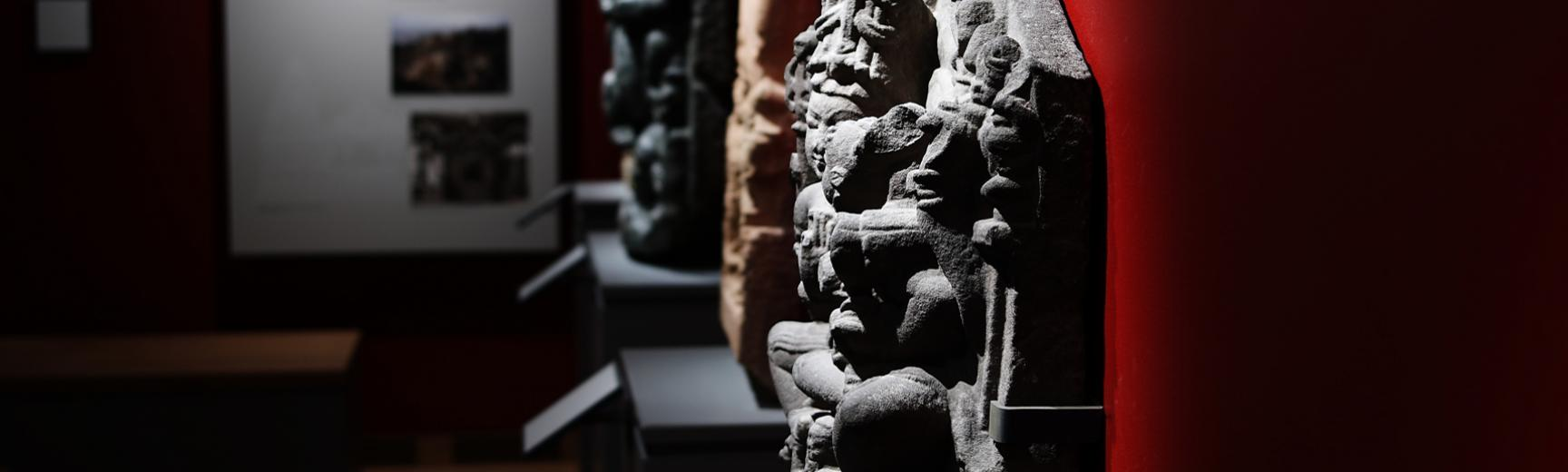 The India from AD 600 Gallery at the Ashmolean Museum