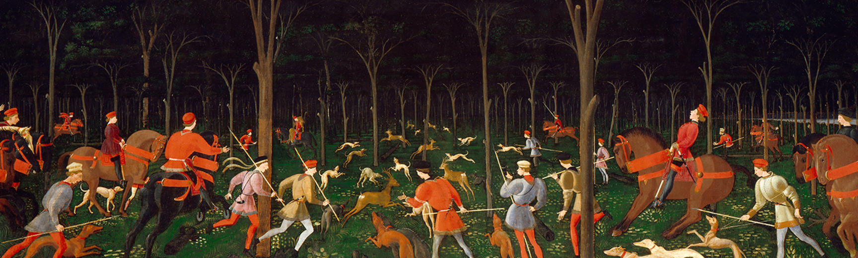 Uccello, Hunt in the Forest