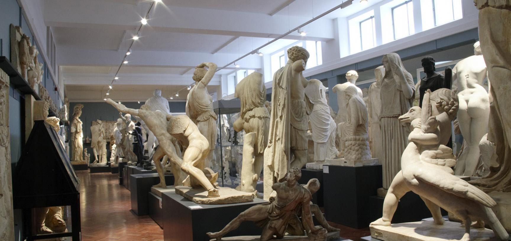 The Cast Gallery at the Ashmolean Museum
