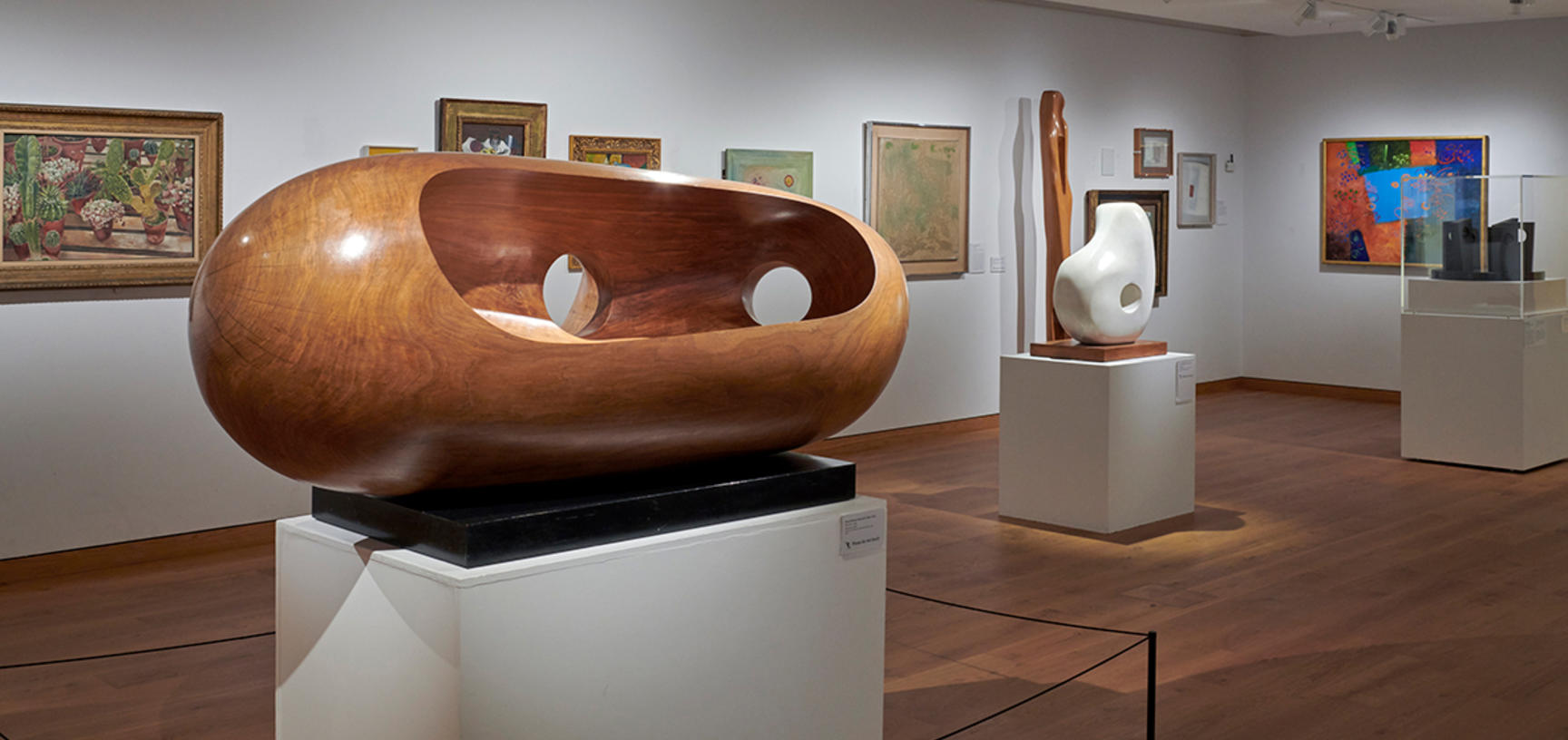 The Modern Art Gallery at the Ashmolean Museum in 2019