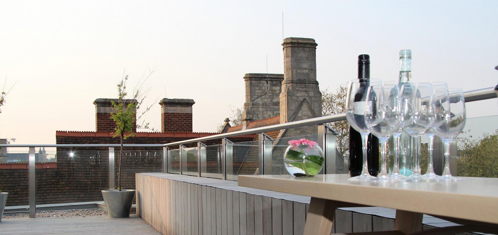 Ashmolean Venue Hire – Corporate Hire of the Terrace