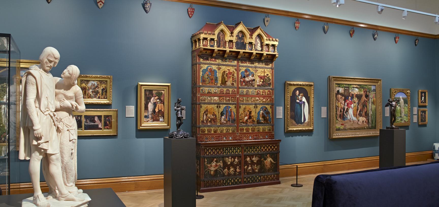 Pre-Raphaelites Gallery at the Ashmolean Museum