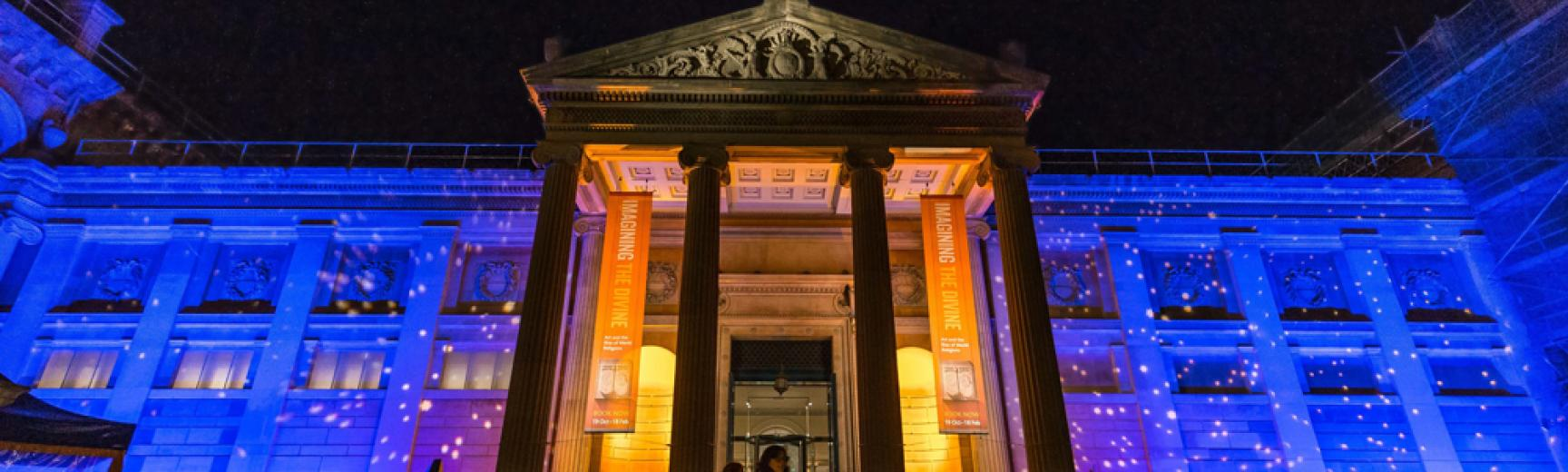 Ashmolean Museum at Night