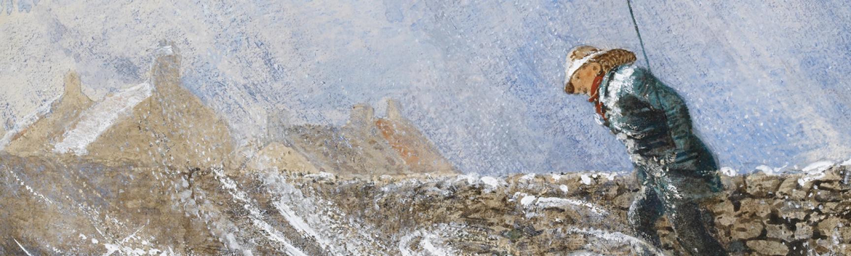 Snow by William Bell Scott