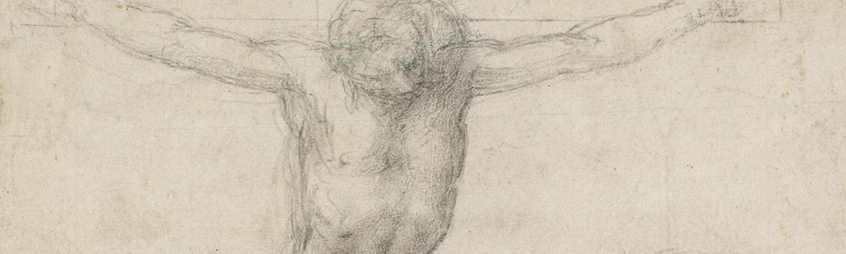 The Crucifixion by Michelangelo Detail