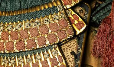 Ceremonal suit of armour for a samurai (detail)