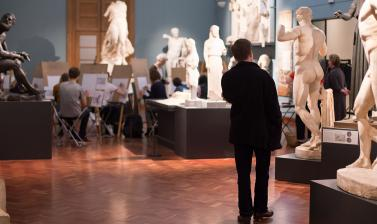 CAST GALLERY LIFE DRAWING ASHMOLEAN