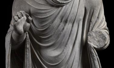 STANDING FIGURE OF THE BUDDHA (detail) from the Ashmolean collections