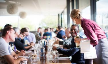 Ashmolean venue hire - rooftop restaurant