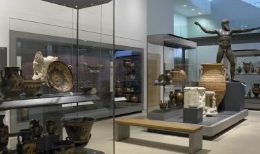 The Greek World Gallery at the Ashmolean Museum