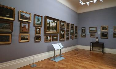 LANDSCAPE OIL SKETCHES Gallery at the Ashmolean Museum