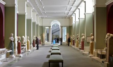The Greek and Roman Sculpture Gallery at the Ashmolean Museum