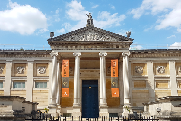 Ashmolean Museum Front of Building July 2020