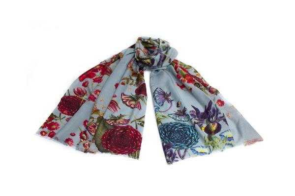 ashmolean shop iris wool scarf 2021