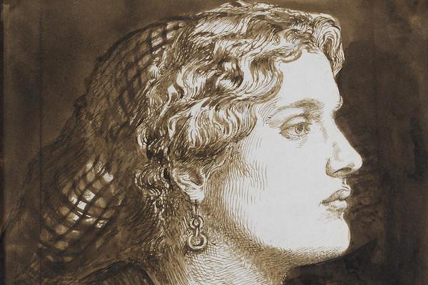Dante Gabriel Rossetti, Portrait of Fanny Cornforth