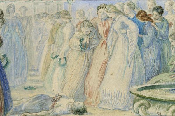 John Everett Millais, Iphis and Anaxarete