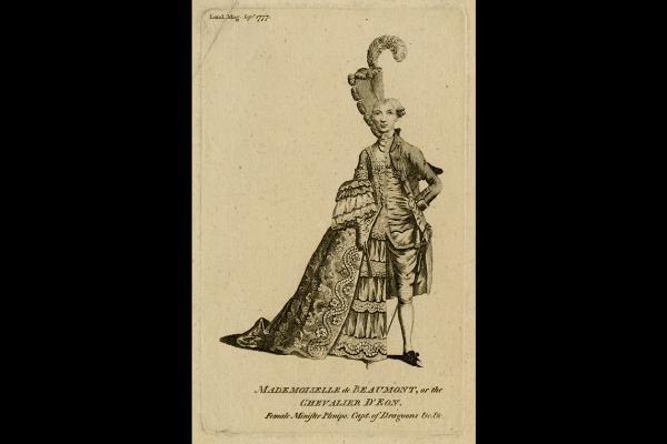 Chevalier Deon, Man Woman © Trustees of the British Museum
