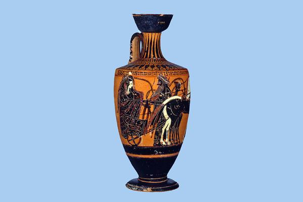 wedding of peleus and thetis ashmolean