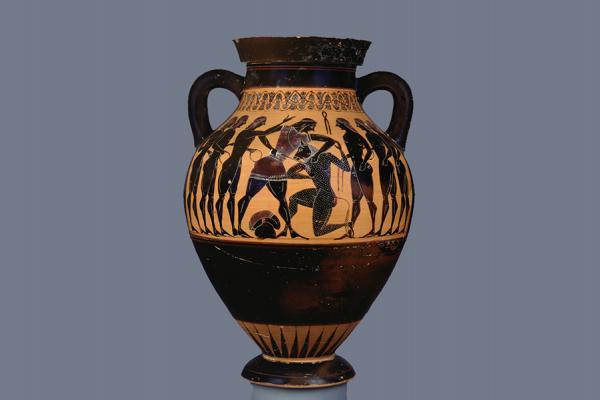 theseus and the minotaur pot ashmolean