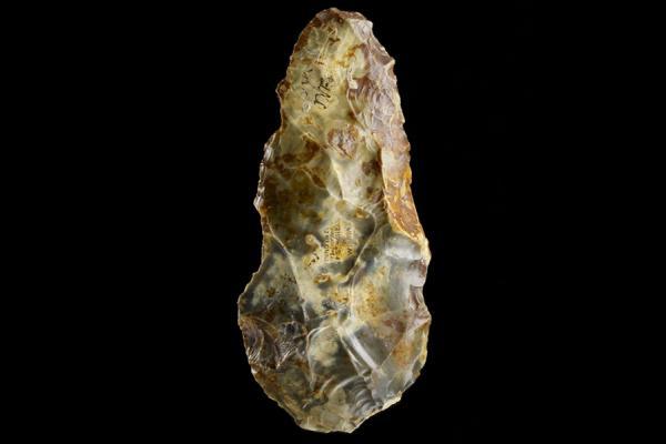 flint hand axe ashmolean