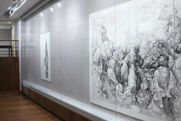 The Chinese Paintings Gallery at the Ashmolean Museum