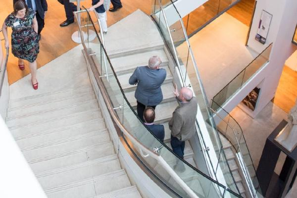 Corporate Staircase in Atrium