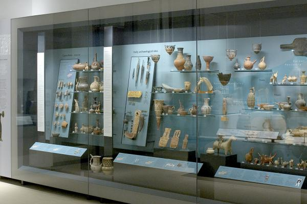 The Ancient Cyprus Gallery at the Ashmolean Museum