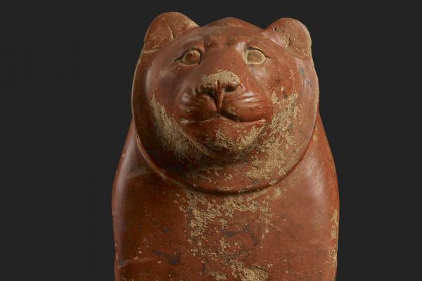 Seated lion (detail), Egypt, c. 2325-2175 BC