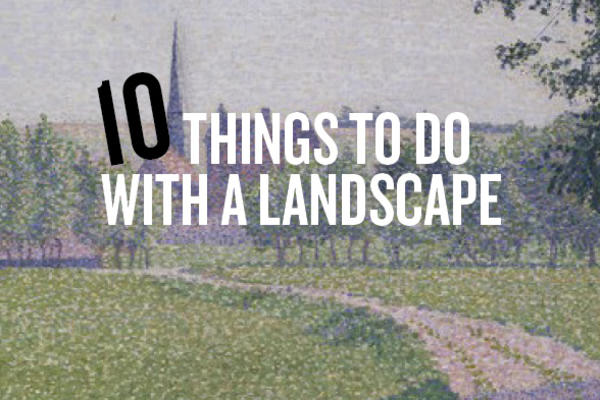 Family Trail – 10 Things Landscape