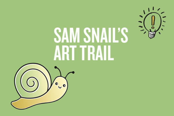 Family Trail Sam Snail Art Trail