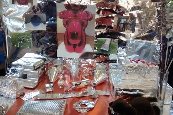 Koons inspired work by Iffley students