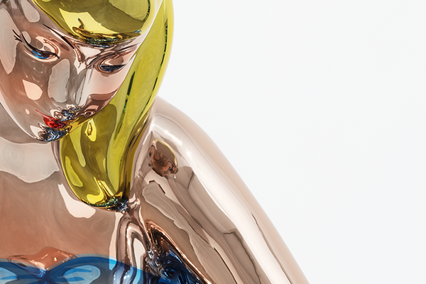 Jeff Koons (b. 1955) – Detail of Seated Ballerina © Jeff Koons