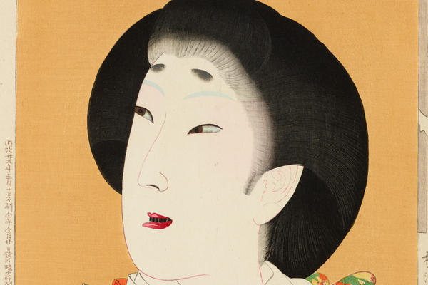 Toyohara Chikanobu, Kan'ei Era (1624-1630) beauty