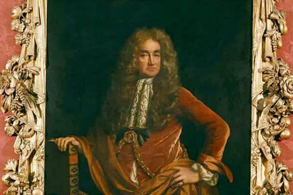 elias ashmole with frame ashmolean