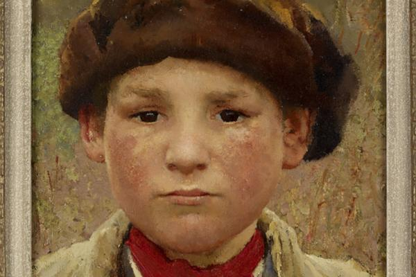Farmer's Boy by Sir George Clausen