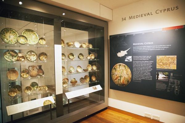 The Medieval Cyprus Gallery at the Ashmolean Museum