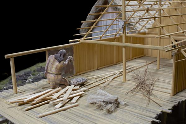 neolithic_lake_village_model_wattle_and_daub ashmolean